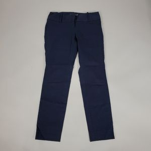 The Limited Ideal Blue Skinny Ankle Pants Sz 0